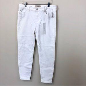 Liverpool Skinny Ankle Jeans White Stitch Fix